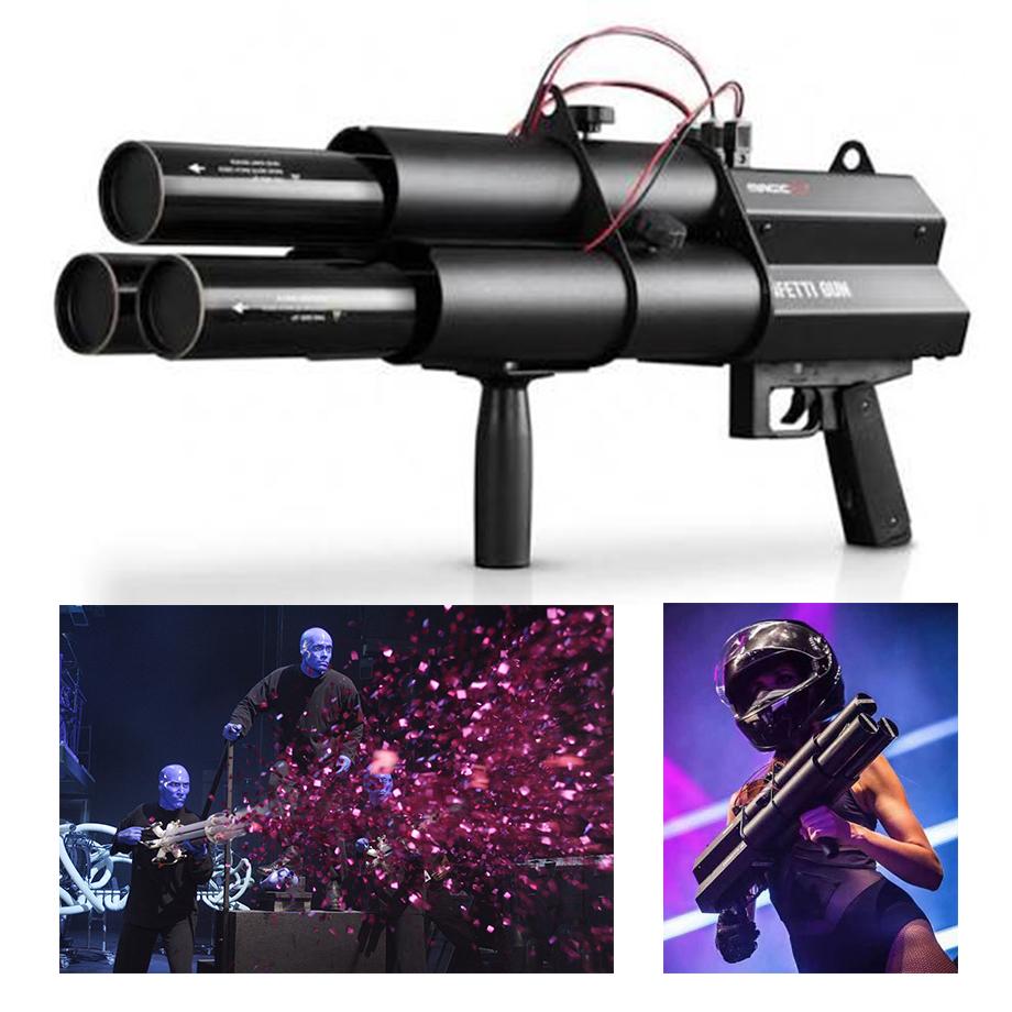 3 Head Confetti Gun