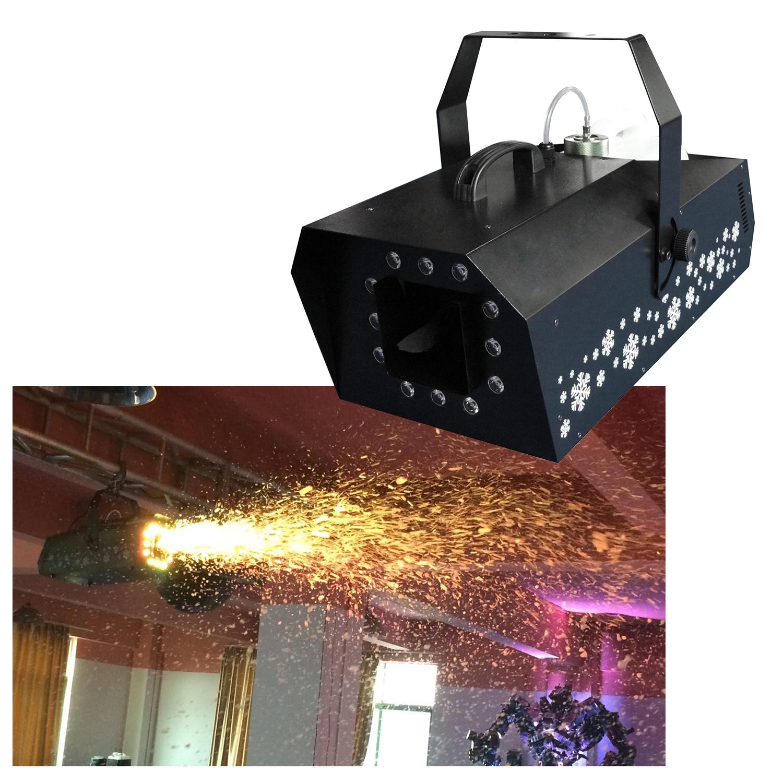 LED Snow Machine 1500w