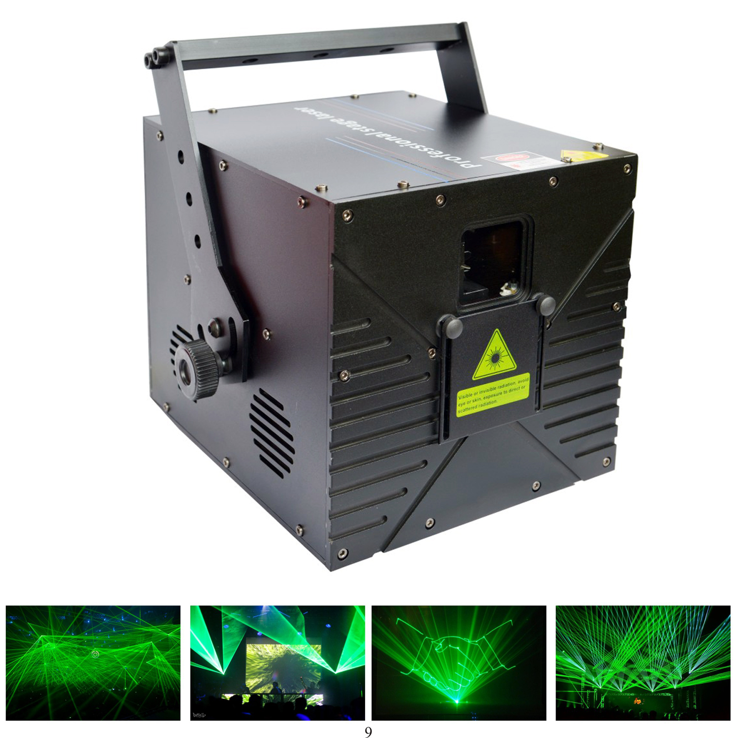Lightful M3 1-3w Green ANIMATION LASER