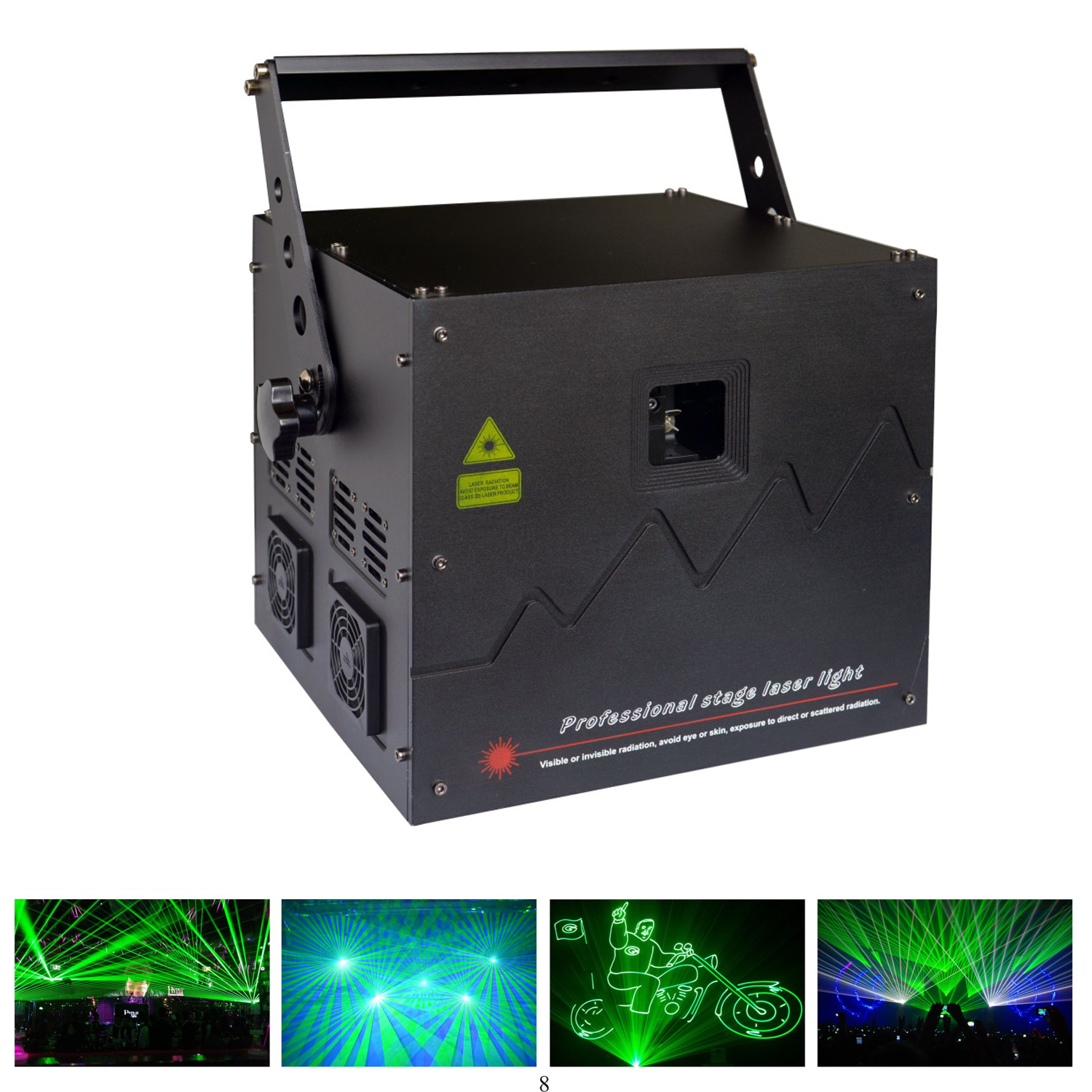 Lightful M6 3-5w Green ANIMATION LASER